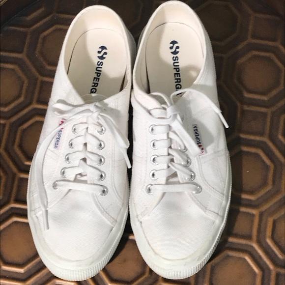 Superga Shoes   White Sneakers Eu Size